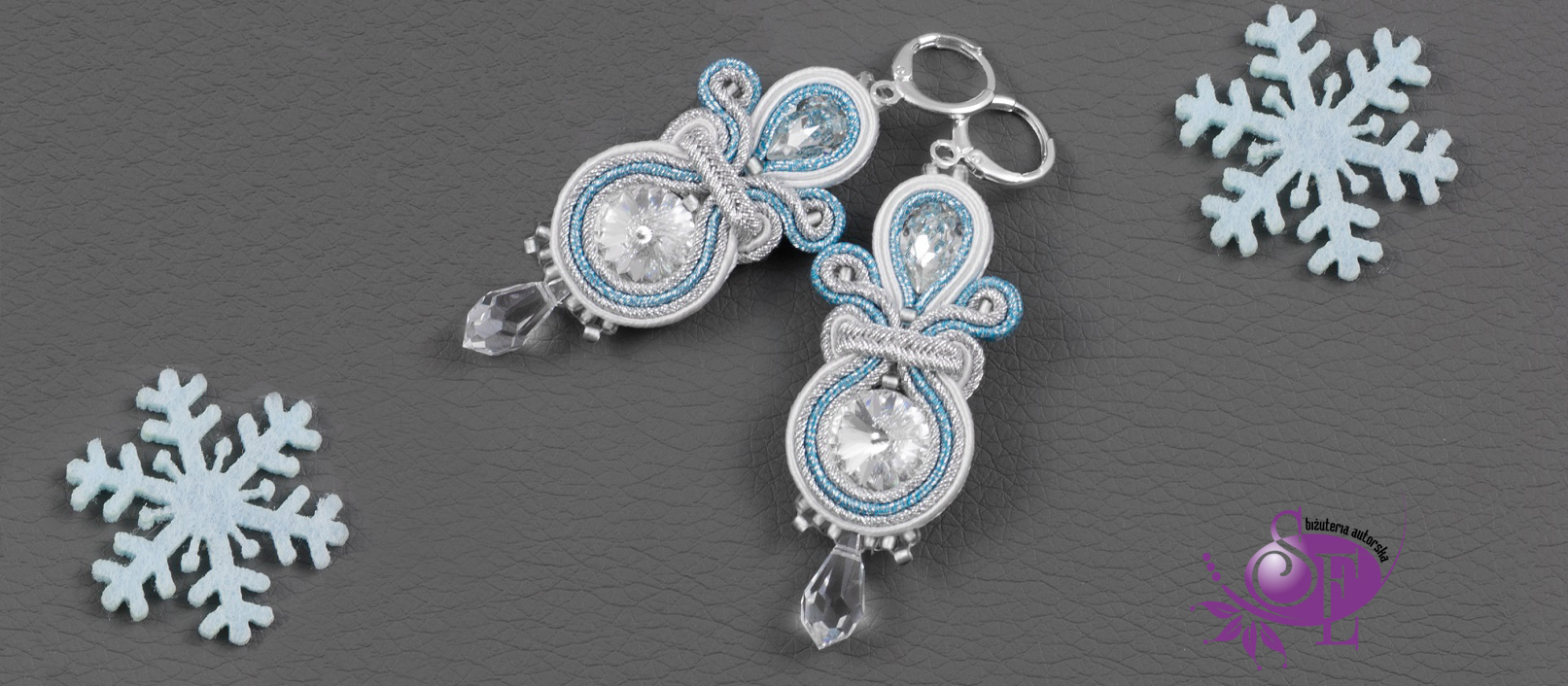 Biżuteria sutasz w bożonarodzeniowcyh stylizacjach