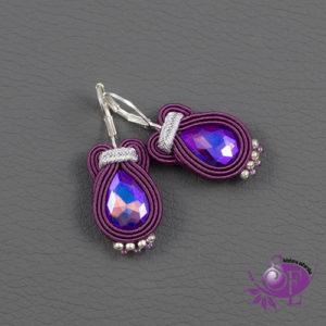 Fioletowa biżuteria sutasz