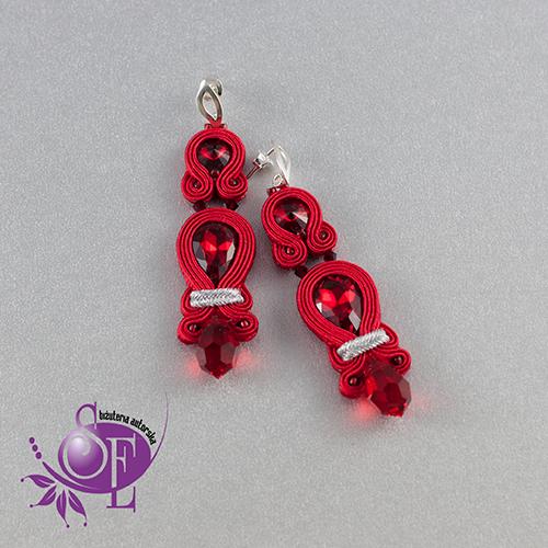 Czerwień - kolor miłości w biżuterii ślubnej