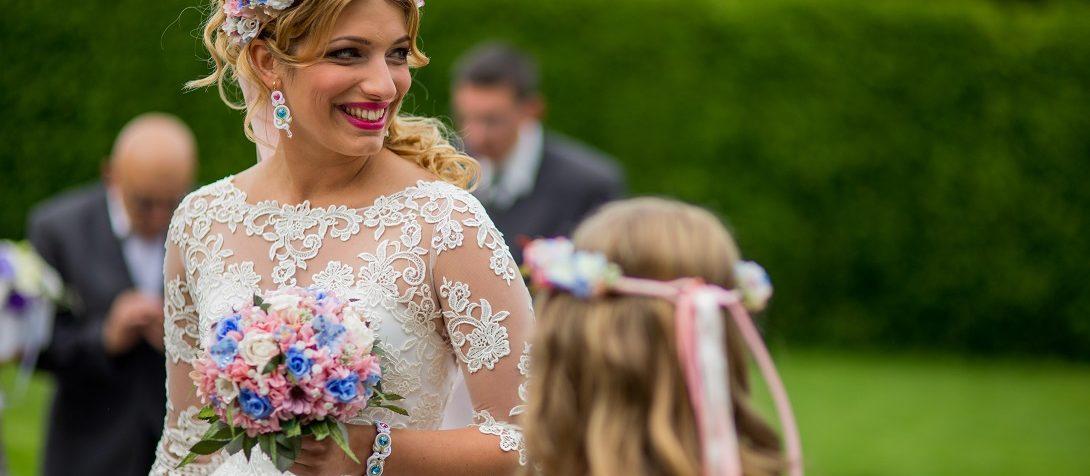 Dodatki ślubne w pastelowych kolorach