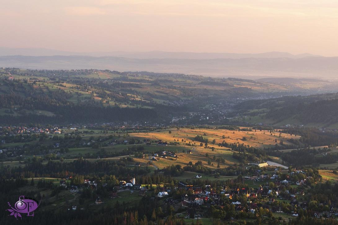 Domki w dolinach